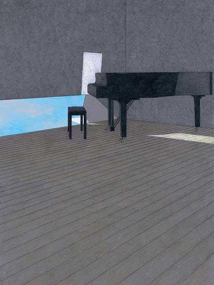 空のある音楽ホール