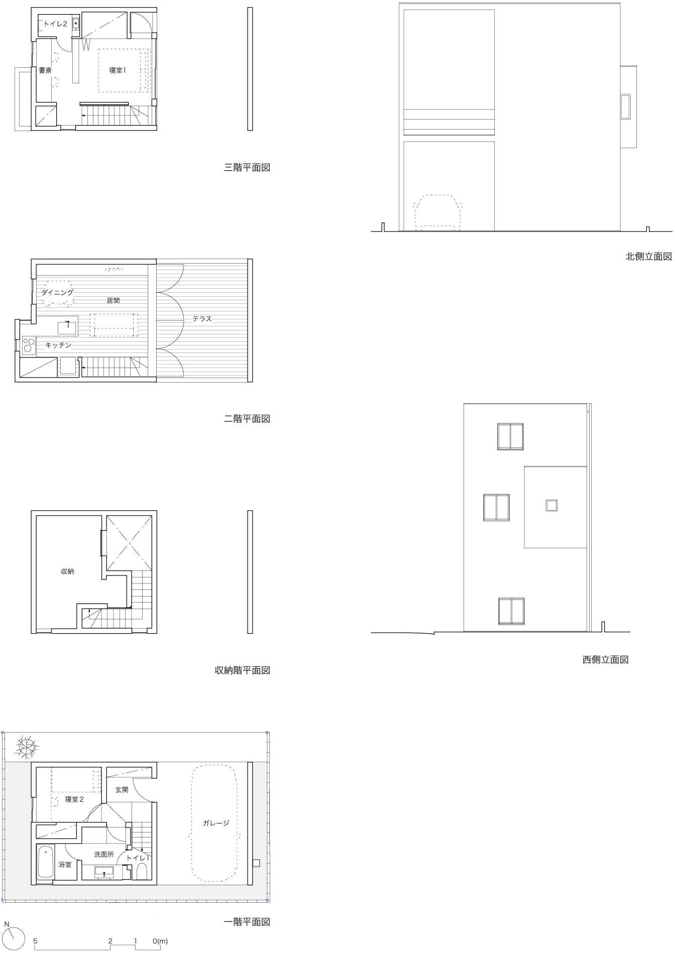 平面図・立面図
